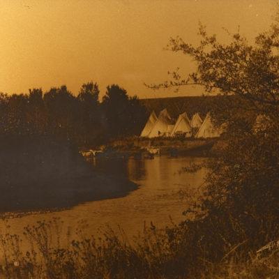 On the Little Bighorn, Edward Curtis (1908)